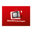 Media vintage logo template