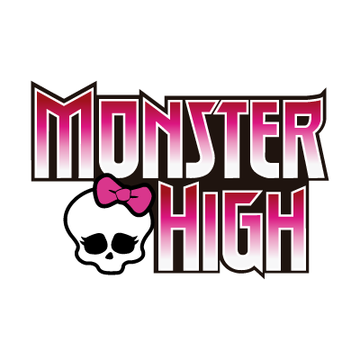 Monster high logo vector