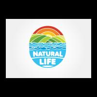 Natural life logo template