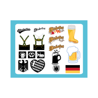Oktoberfest graphics logo template