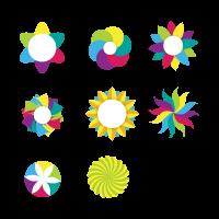 Pattern Designs logo template