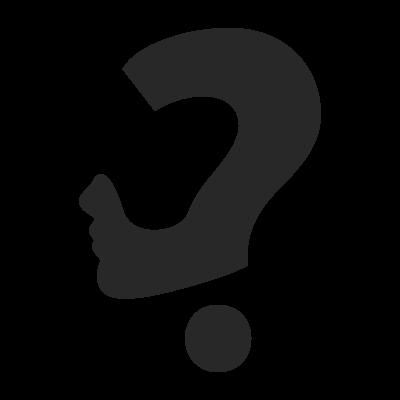 Question Mark Concept logo template