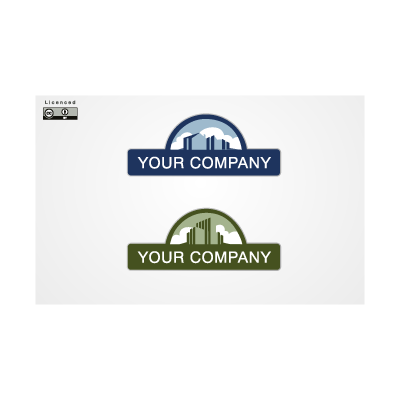 Real state companies logo template