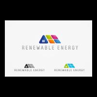 Renewable energy logo template