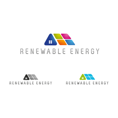Renewable various logo template