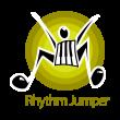 Rhythm jumper logo template