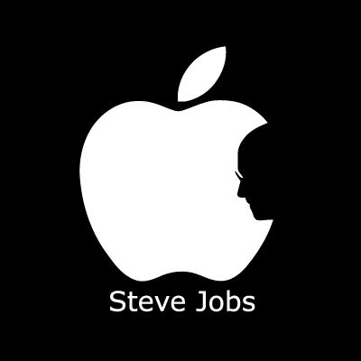 Steve jobs logo template