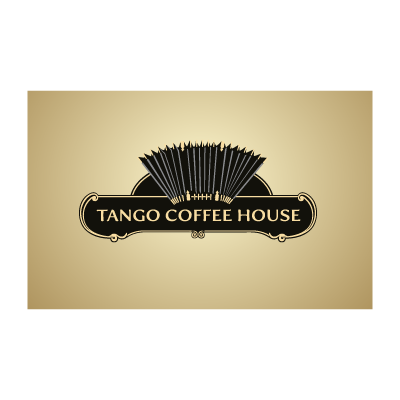 Tango coffee house logo template