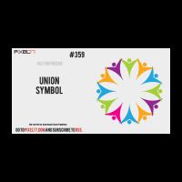 Union symbol logo template