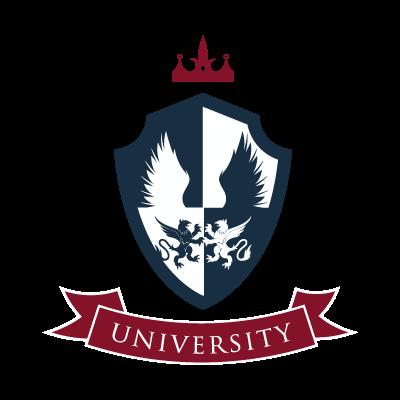 Vintage Crest logo template