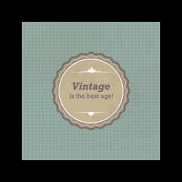Vintage sign logo template