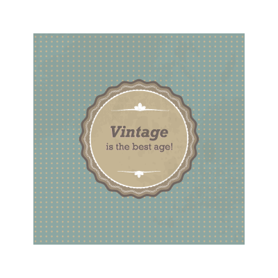 Vintage sign logo template
