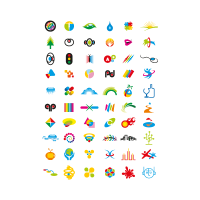 Web Design Elements logo template