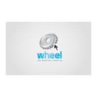 Wheel logo template