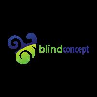Blind concept logo template
