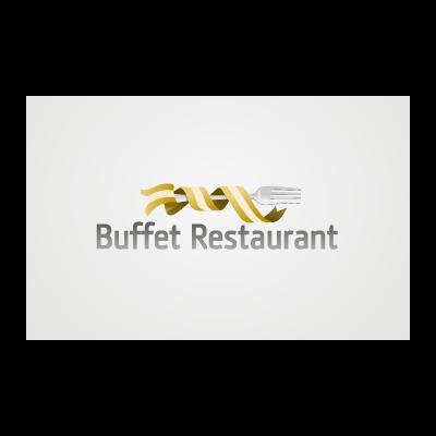 Buffet restaurant logo template