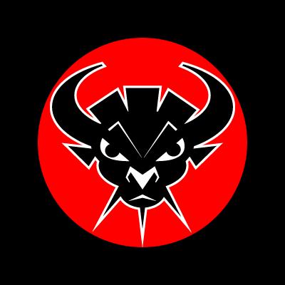 Bull head logo template