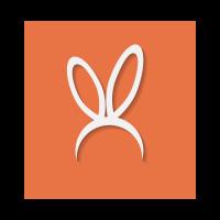Bunny Ears logo template