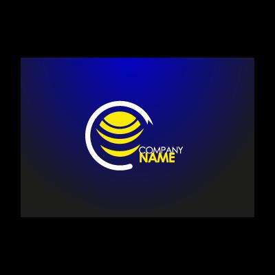 Circle sun logo template