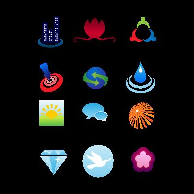Clipart design logo template