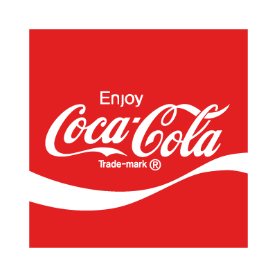 Coca-Cola enjoy logo template