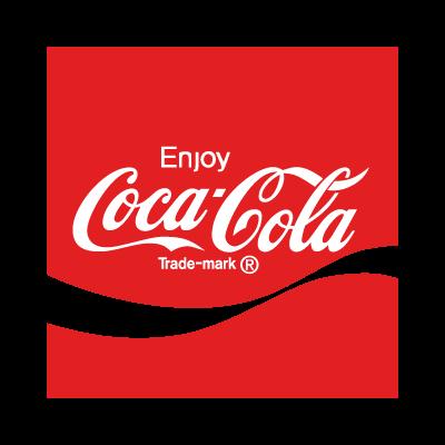 Coca-Cola enjoy logo template