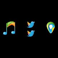 Colorful Entertainment logo template