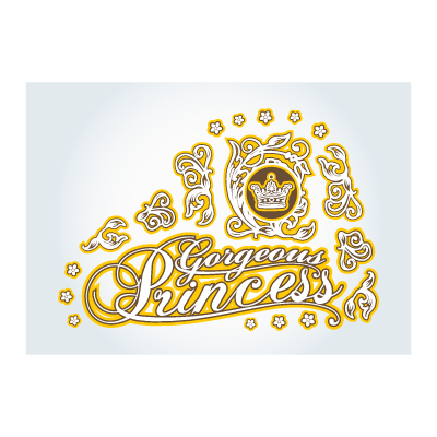 Cool Princess logo template