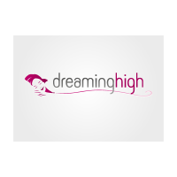Dreaming high logo template
