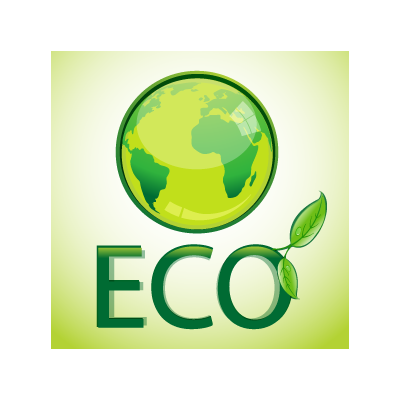 Eco Pack logo template