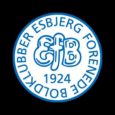 Esbjerg fB (1924) logo vector