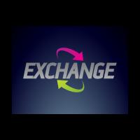 Exchange arrows logo template