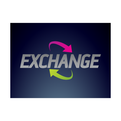 Exchange arrows logo template