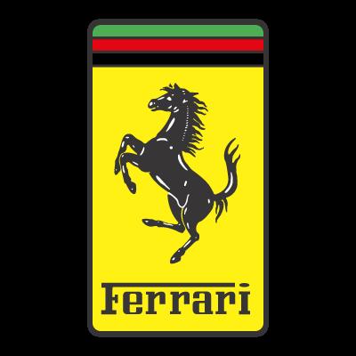 Ferrari material logo template