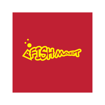 Fish mart logo template