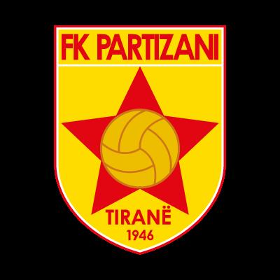 FK Partizani vector logo