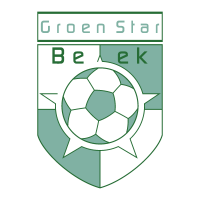 Groen Star Beek vector logo