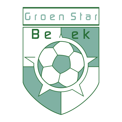 Groen Star Beek logo vector