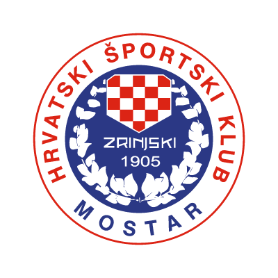 HSK Zrinjski Mostar vector logo