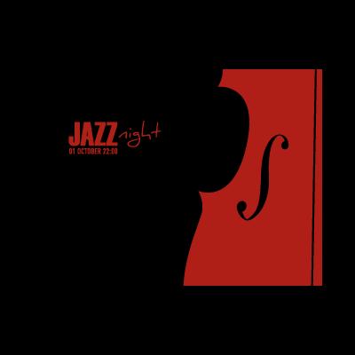 Jazz night logo template