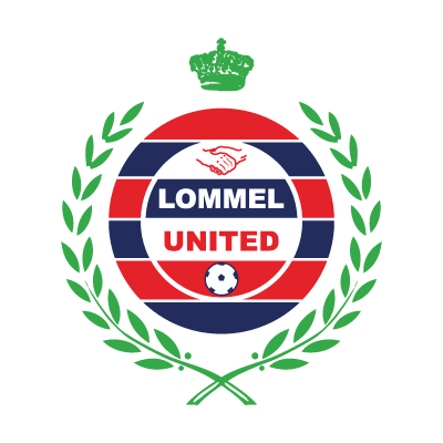 K. United Lommel logo vector