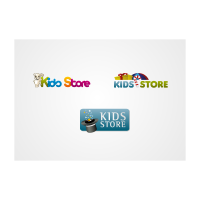 Kids Store logo template