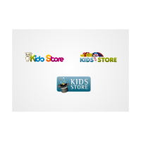 Kids Store Pack logo template