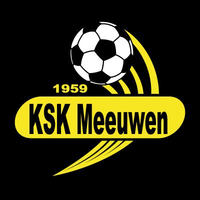KSK Meeuwen logo vector