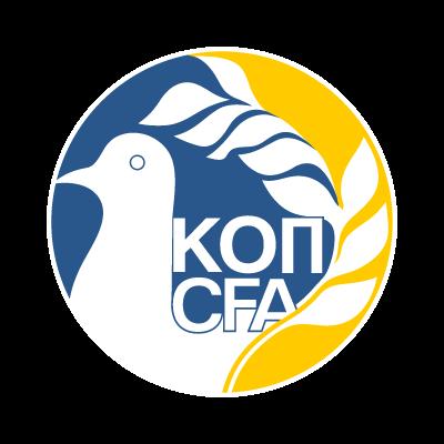 Kypriaki Omospondia Podosfairon vector logo