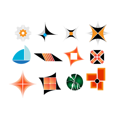 Modern  pack logo template
