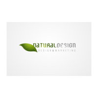 Natural Design logo template