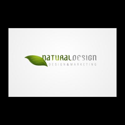 Natural Design logo template
