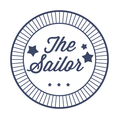 Nautical Badge logo template