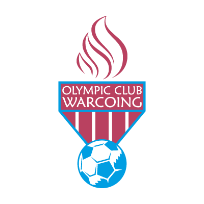 Olympic Club Warcoing vector logo